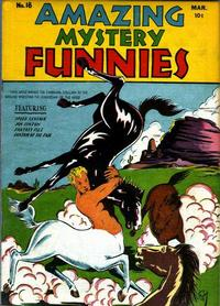 Cover Thumbnail for Amazing Mystery Funnies (Centaur, 1938 series) #18