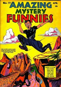 Cover Thumbnail for Amazing Mystery Funnies (Centaur, 1938 series) #19