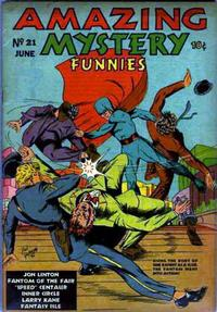 Cover Thumbnail for Amazing Mystery Funnies (Centaur, 1938 series) #21