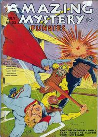 Cover Thumbnail for Amazing Mystery Funnies (Centaur, 1938 series) #22
