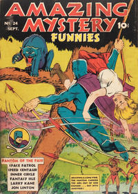 Cover Thumbnail for Amazing Mystery Funnies (Centaur, 1938 series) #24