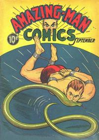 Cover Thumbnail for Amazing Man Comics (Centaur, 1939 series) #5