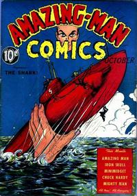 Cover Thumbnail for Amazing Man Comics (Centaur, 1939 series) #6