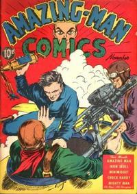Cover Thumbnail for Amazing Man Comics (Centaur, 1939 series) #7