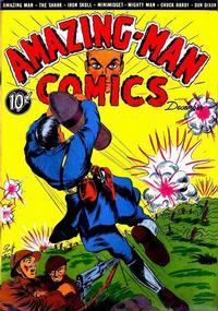 Cover Thumbnail for Amazing Man Comics (Centaur, 1939 series) #8