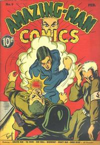 Cover Thumbnail for Amazing Man Comics (Centaur, 1939 series) #9