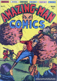 Cover Thumbnail for Amazing Man Comics (Centaur, 1939 series) #10