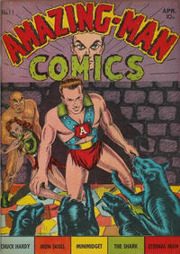 Cover Thumbnail for Amazing Man Comics (Centaur, 1939 series) #11