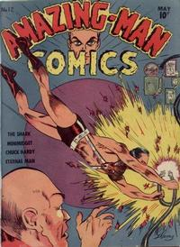Cover Thumbnail for Amazing Man Comics (Centaur, 1939 series) #12