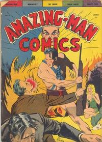 Cover Thumbnail for Amazing Man Comics (Centaur, 1939 series) #13