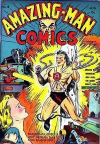 Cover Thumbnail for Amazing Man Comics (Centaur, 1939 series) #15