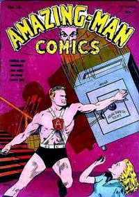 Cover Thumbnail for Amazing Man Comics (Centaur, 1939 series) #16