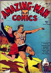 Cover Thumbnail for Amazing Man Comics (Centaur, 1939 series) #17