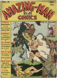 Cover Thumbnail for Amazing Man Comics (Centaur, 1939 series) #18
