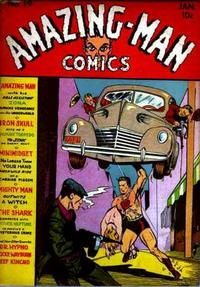 Cover for Amazing Man Comics (Centaur, 1939 series) #19