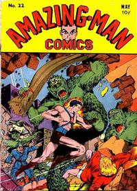 Cover Thumbnail for Amazing Man Comics (Centaur, 1939 series) #22