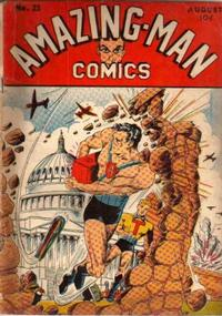 Cover Thumbnail for Amazing Man Comics (Centaur, 1939 series) #23