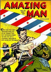 Cover Thumbnail for Amazing Man Comics (Centaur, 1939 series) #25