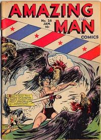Cover Thumbnail for Amazing Man Comics (Centaur, 1939 series) #26