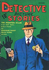 Cover Thumbnail for Detective Picture Stories (Comics Magazine Company, 1936 series) #1