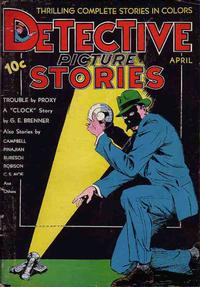 Cover Thumbnail for Detective Picture Stories (Comics Magazine Company, 1936 series) #5