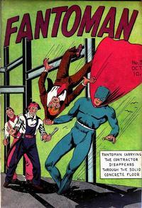 Cover Thumbnail for Fantoman (Centaur, 1940 series) #3