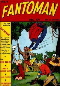 Cover Thumbnail for Fantoman (Centaur, 1940 series) #4