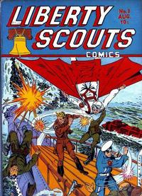 Cover Thumbnail for Liberty Scouts Comics (Centaur, 1941 series) #3