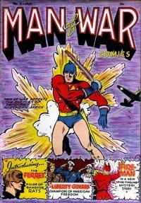 Cover Thumbnail for Man of War Comics (Centaur, 1941 series) #2