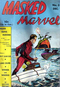 Cover Thumbnail for Masked Marvel (Centaur, 1940 series) #3