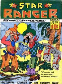 Cover Thumbnail for Star Ranger (Chesler / Dynamic, 1937 series) #2