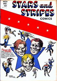 Cover Thumbnail for Stars and Stripes Comics (Centaur, 1941 series) #6 (5)