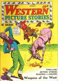 Cover Thumbnail for Western Picture Stories (Comics Magazine Company, 1937 series) #2