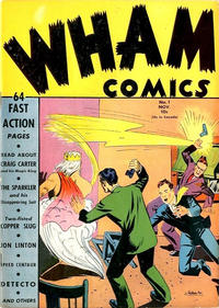 Cover Thumbnail for Wham Comics (Centaur, 1940 series) #1