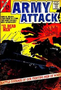 Cover Thumbnail for Army Attack (Charlton, 1964 series) #1