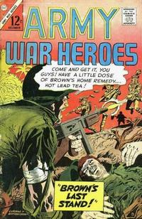 Cover Thumbnail for Army War Heroes (Charlton, 1963 series) #17