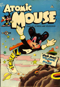 Cover Thumbnail for Atomic Mouse (Charlton, 1953 series) #1