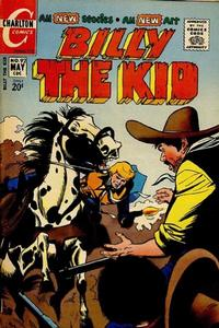 Cover Thumbnail for Billy the Kid (Charlton, 1957 series) #92