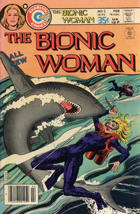 Cover Thumbnail for Bionic Woman (Charlton, 1977 series) #2
