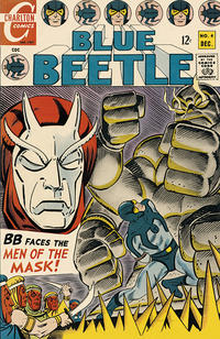 Cover Thumbnail for Blue Beetle (Charlton, 1967 series) #4