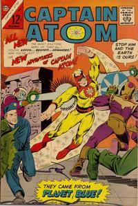 Cover Thumbnail for Captain Atom (Charlton, 1965 series) #78