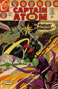 Cover Thumbnail for Captain Atom (Charlton, 1965 series) #88