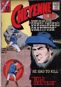 Cover Thumbnail for Cheyenne Kid (Charlton, 1957 series) #43