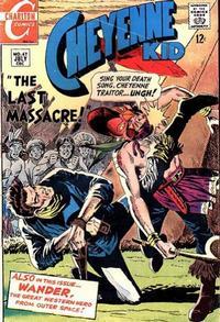 Cover Thumbnail for Cheyenne Kid (Charlton, 1957 series) #67