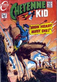 Cover Thumbnail for Cheyenne Kid (Charlton, 1957 series) #78