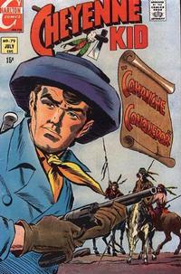 Cover Thumbnail for Cheyenne Kid (Charlton, 1957 series) #79