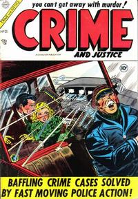 Cover Thumbnail for Crime and Justice (Charlton, 1951 series) #21