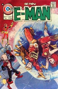 Cover for E-Man (Charlton, 1973 series) #9