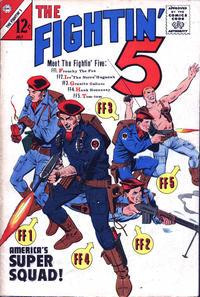 Cover Thumbnail for Fightin' Five (Charlton, 1964 series) #28