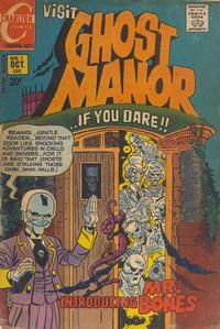 Cover Thumbnail for Ghost Manor (Charlton, 1971 series) #1